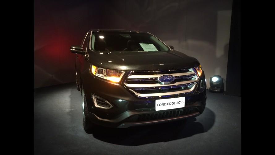 Ford faz pré-estreia do novo Edge no Brasil e promete mais cinco novidades