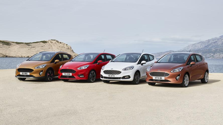 2017 Ford Fiesta Range