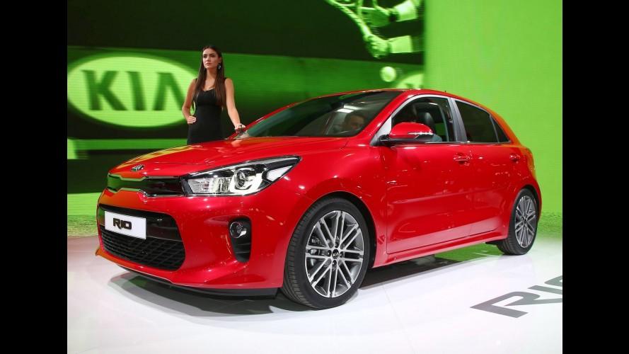 Paris: maior e mais refinado, Kia Rio 2017 chega ao Brasil em 2017