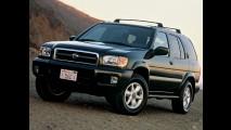 Nissan convoca Pathfinder no Brasil para reparar airbag da Takata