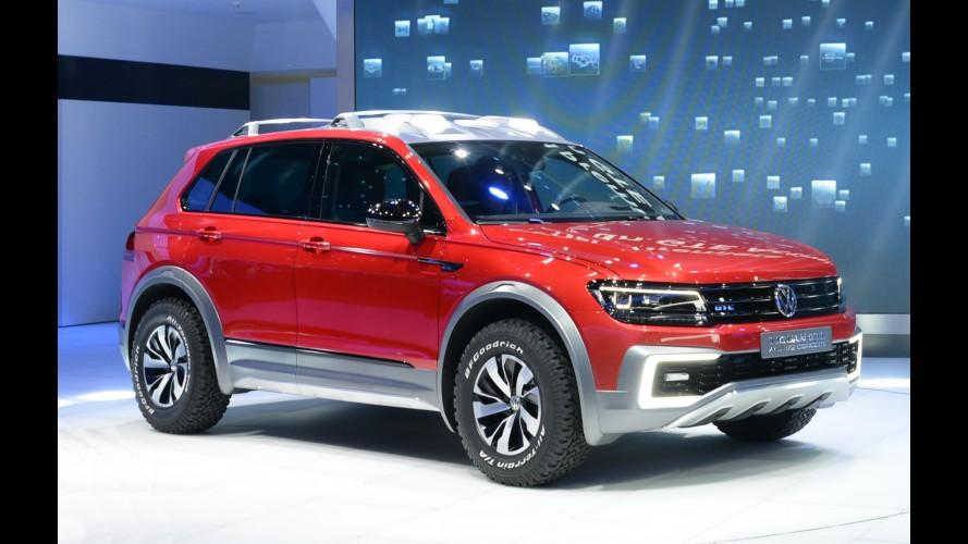 Salão de Detroit: Tiguan GTE Active é destaque aventureiro da Volkswagen