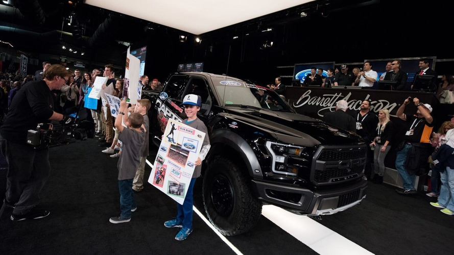 Last 2017 Ford F-150 Raptor fetches $157k at auction for charity