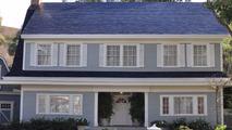 Tesla solar panel roof tile