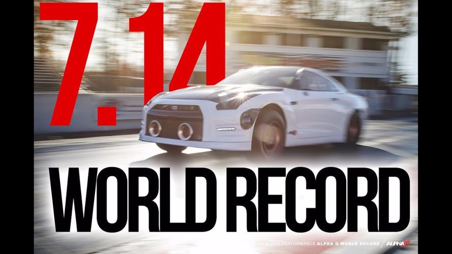 Nissan GT-R quarter-mile record broken - again