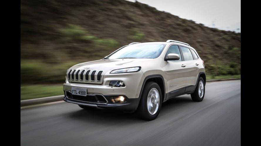 Jeep faz recall do Cherokee no Brasil para corrigir problemas na parte elétrica