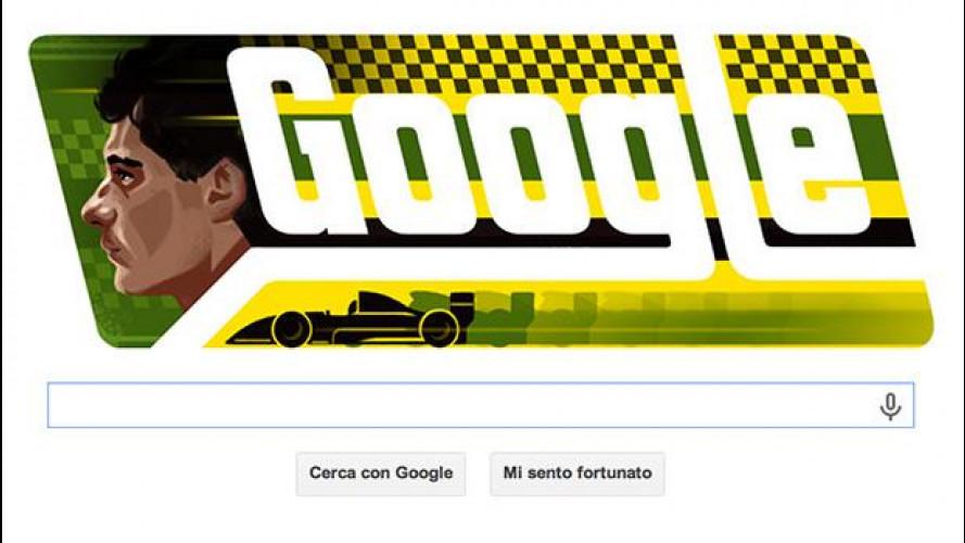 Ayrton Senna: il buon compleanno da Google