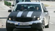 New Mercedes E-Class Black Tape Camo