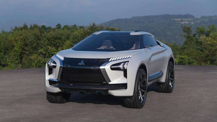 Le Mitsubishi e-Evolution concept se montre à Tokyo