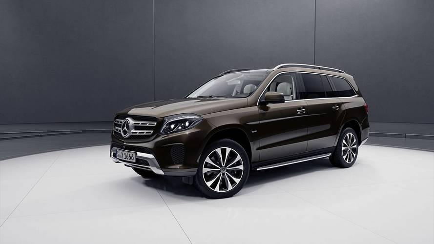 Özel donanımlı Mercedes GLS etkileyici görünüyor