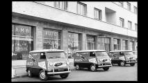 Fiat Multipla con pubblicità Abarth