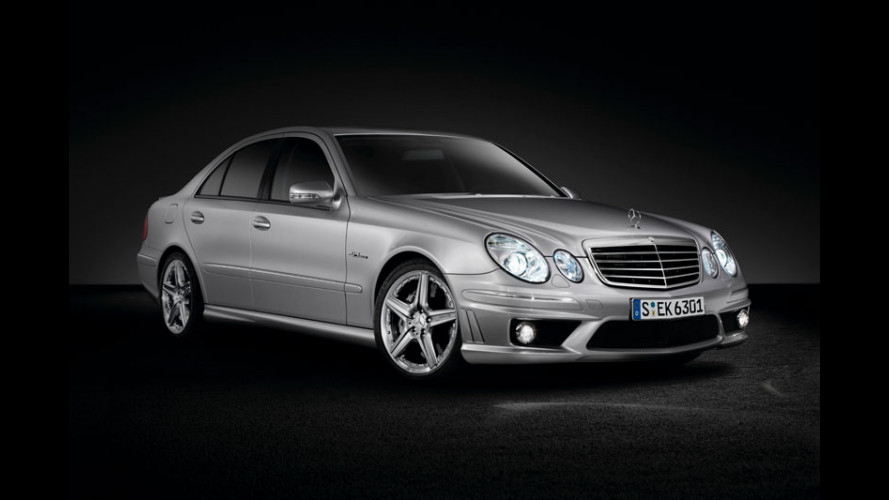 Mercedes E 63 AMG Performance Package