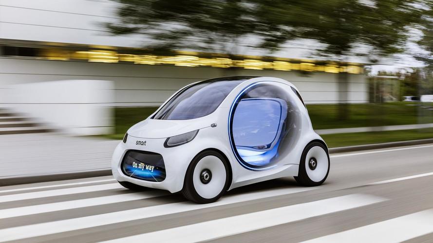 Smart dévoile la vision EQ fortwo concept