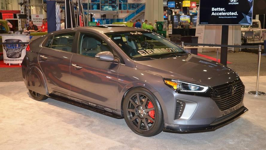 Le concept Hyundai HyperEconiq Ioniq se dévoile au SEMA Show 2017