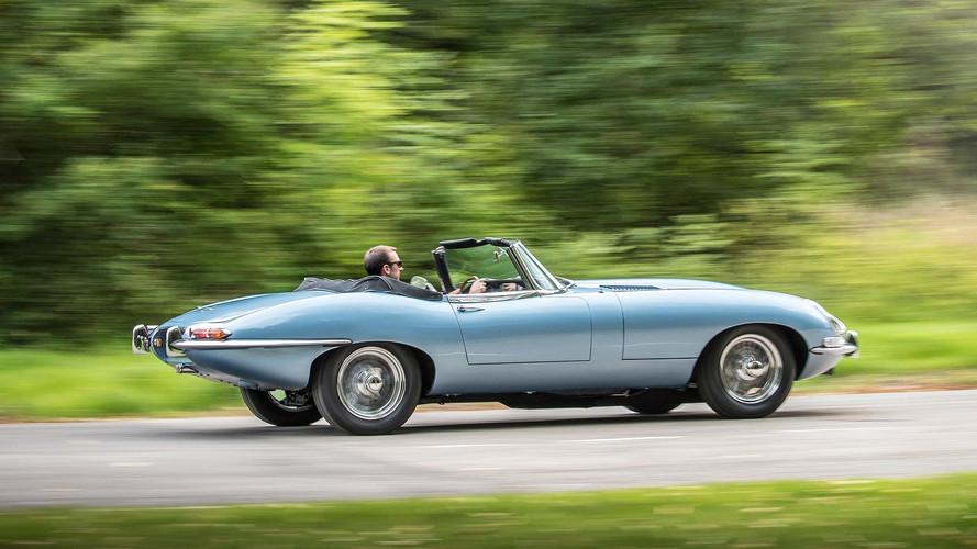 El Jaguar E-type Concept Zero, protagonista de la boda real británica