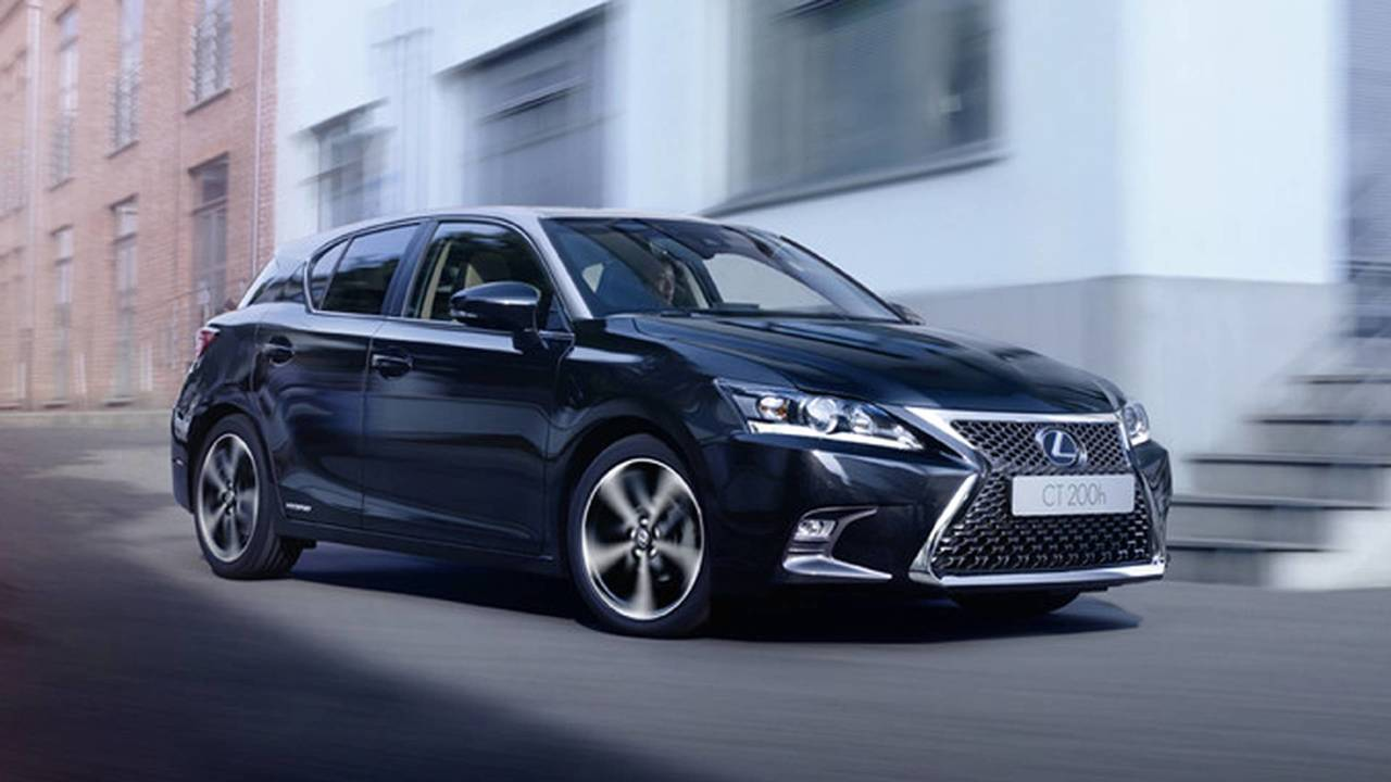 order books open for high tech new lexus ct200h. Black Bedroom Furniture Sets. Home Design Ideas