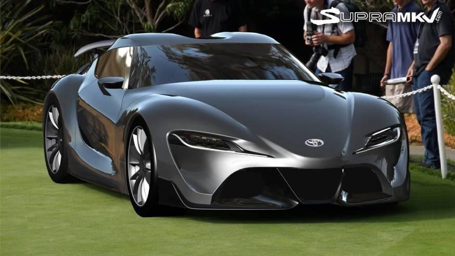 Toyota Supra Rendering