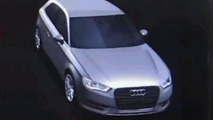 2012 Audi A3 graphical CES teaser images, 800, 11.01.2012