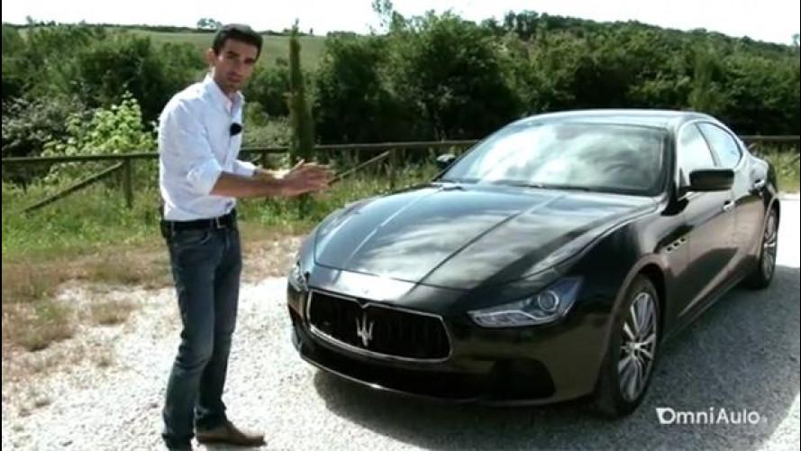 Maserati Ghibli diesel, l'alternativa italiana [VIDEO]