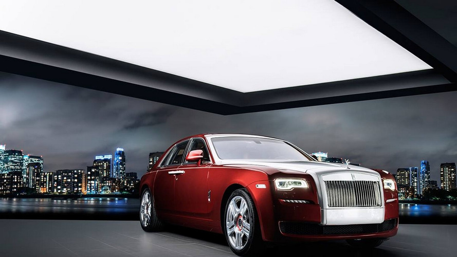 Ghost Red Diamond is yet another unique Rolls-Royce