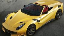 Ferrari F12tdf Aperta render