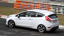 Ford Fiesta ST spied at Nürburgring