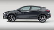 Alfa Romeo SUV Coupe rendering