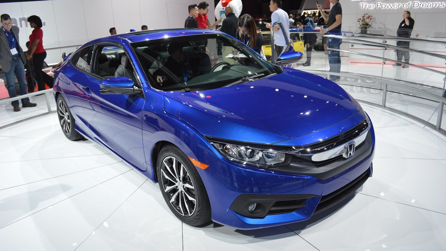 Honda Civic Coupe 2017