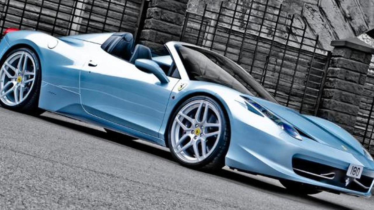 Ferrari 458 Spider by A. Kahn Design