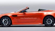 Aston Martin V12 Vantage S Roadster rendered