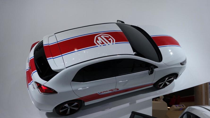2013 Euro-spec MG3 visits Auto Shanghai