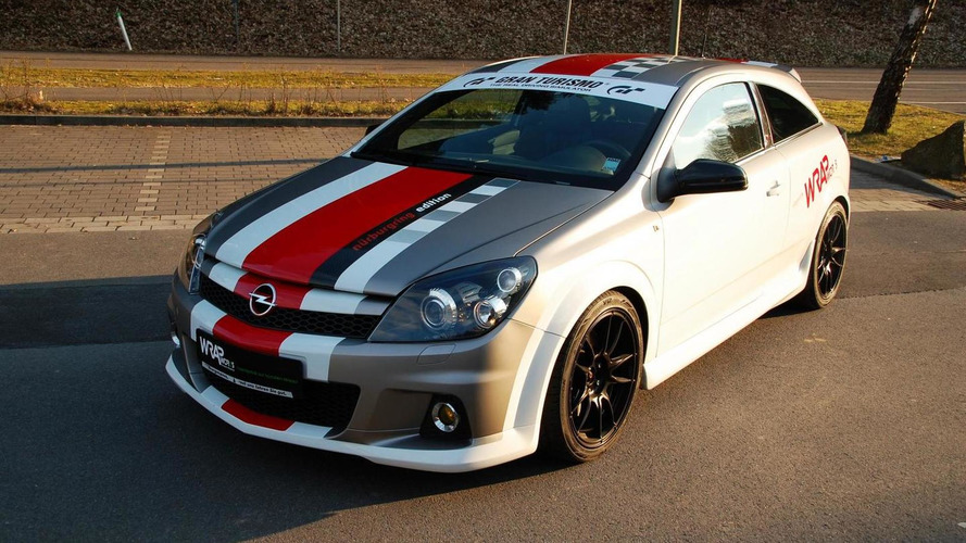 Opel Astra H OPC Nurburgring Edition modified by Wrap Works