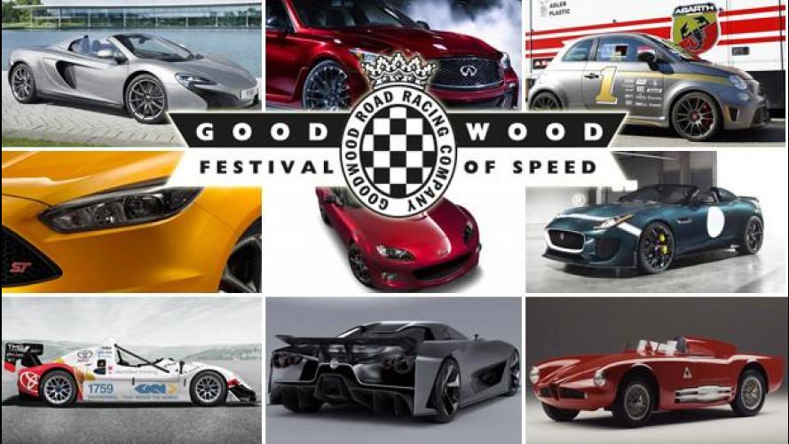 Goodwood incandescente con il Festival of Speed
