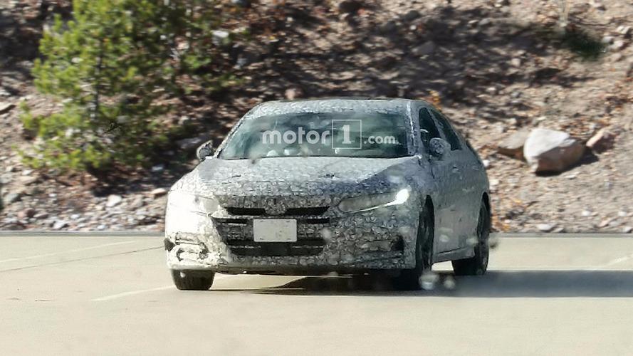 Flagra - Novo Honda Accord 2018 será um