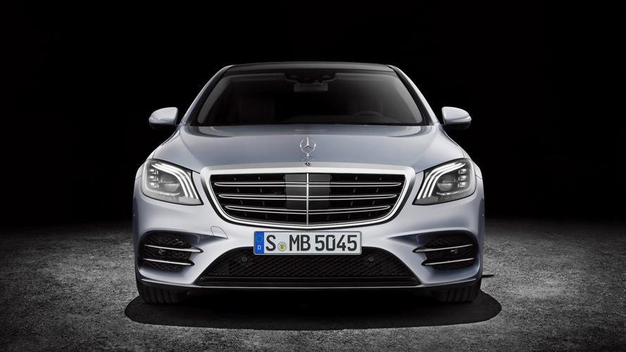 Makyajlı Mercedes S-Serisi Coupe ve Cabrio Frankfurt yolcusu