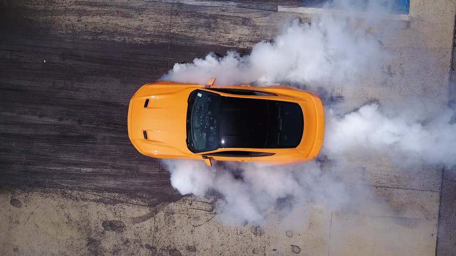 Now You Can Do Line-Lock Burnouts In The Ford Mustang EcoBoost