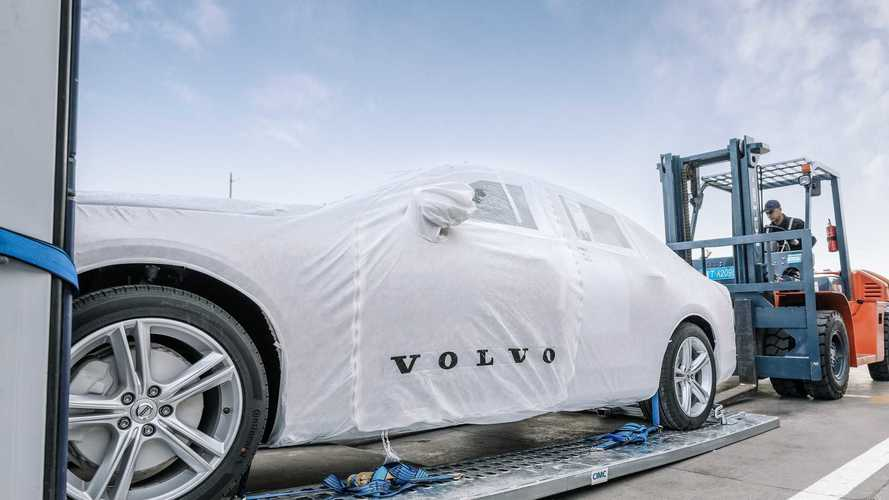 First China-Built Volvo S90 Sedans Arrive In Europe
