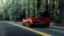 Porsche 918 Spyder makyajı