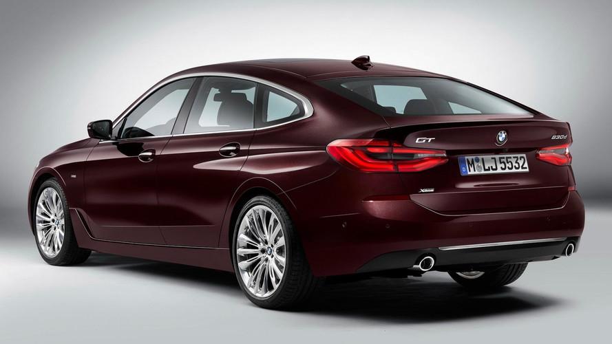 La nouvelle BMW Série 6 GT prend la fuite !