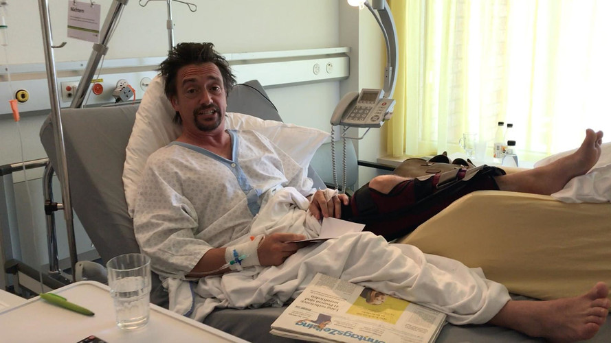 Richard Hammond's Wife Comments On His Cheating Death, Again