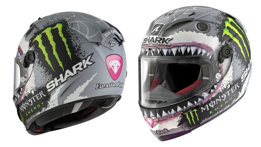 Shark lanza una edición limitada del casco 'tiburón' de Jorge Lorenzo