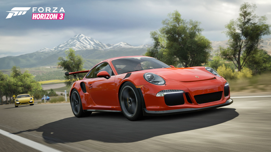 Forza Horizon 3 Porsche Car Pack