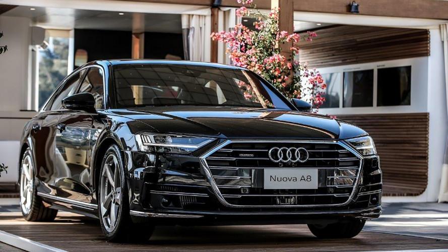 Audi A8, la