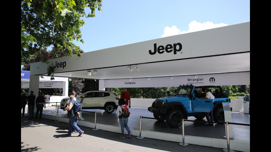 Jeep a Parco Valentino 2017