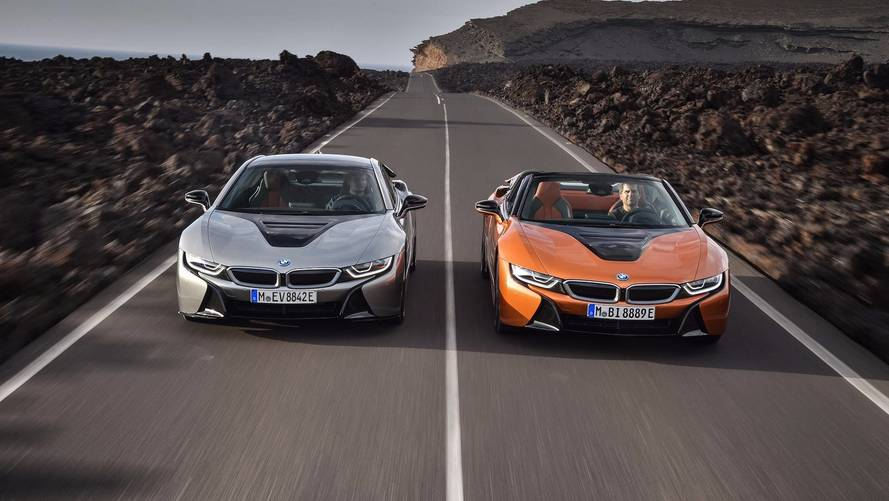 Precios de los BMW i8 Coupé y Roadster 2018