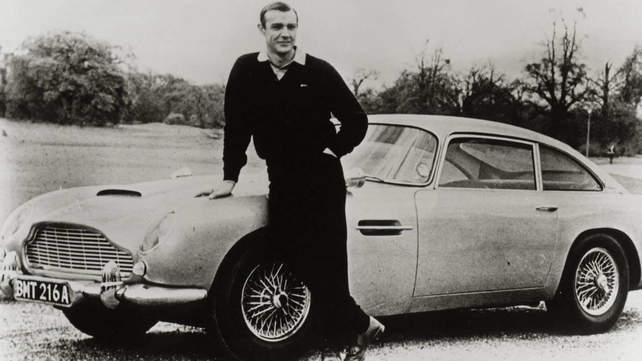 Aston Martin DB5, Goldfinger