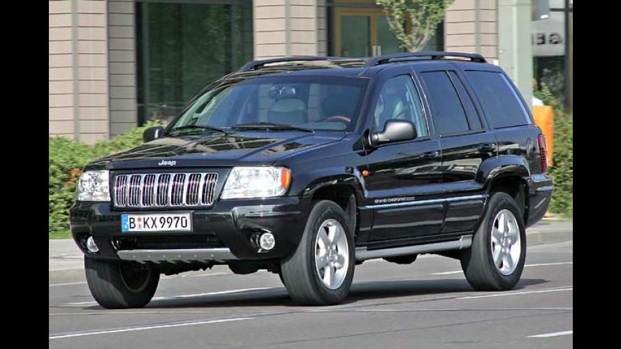 Jeep-Sondermodelle zu Cherokee und Grand Cherokee