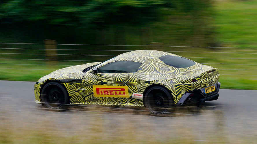 Six things we know about the 2018 Aston Martin Vantage
