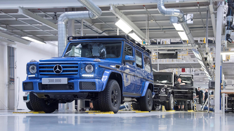 Mercedes Shows How The 300,000th G-Class Was Born
