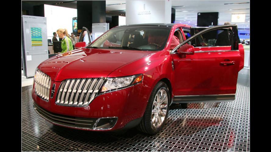 Lincoln MKT: Siebensitziges Luxus-SUV mit viel Hightech