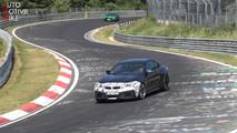2018 BMW M2 CS screenshot from spy video